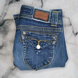 Vigoss Women's Low Rise Bootcut Jeans Size 3/4